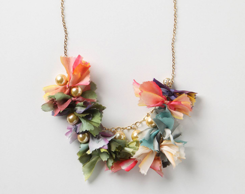 Pretty-In-Pinking Necklace from Anthropologie